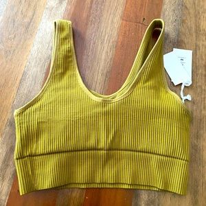 GOOD AMERICAN - ACTIVE ESSENTIAL RIBBED BRA